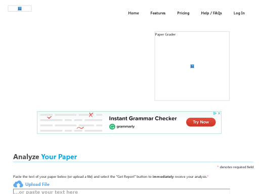 automated essay scoring   k  internet resource center paper rater   give it a try